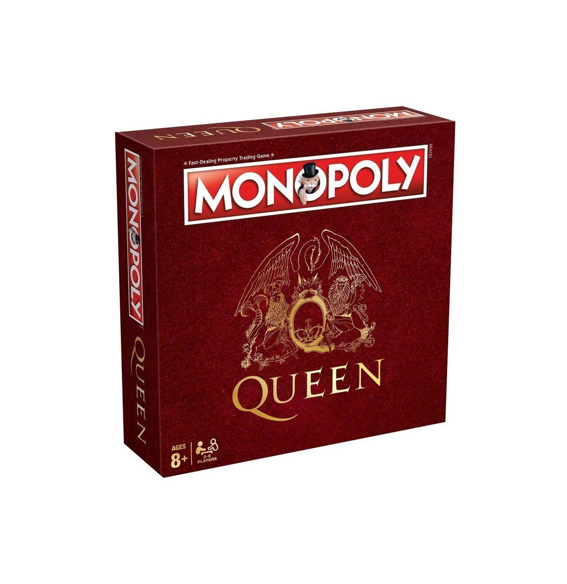 Monopoly Queen Boardgame Winning Moves English Edition