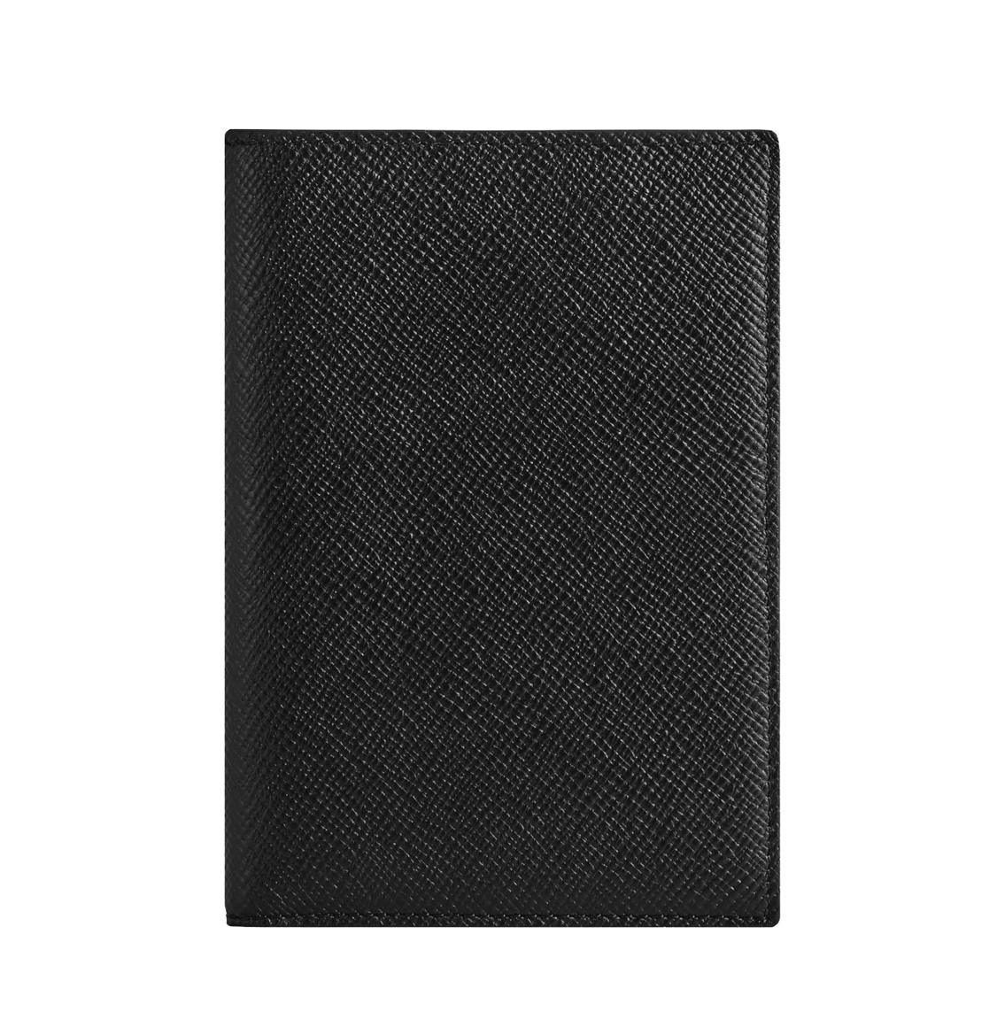 Smythson Panama Cross-Grain Leather Passport Cover