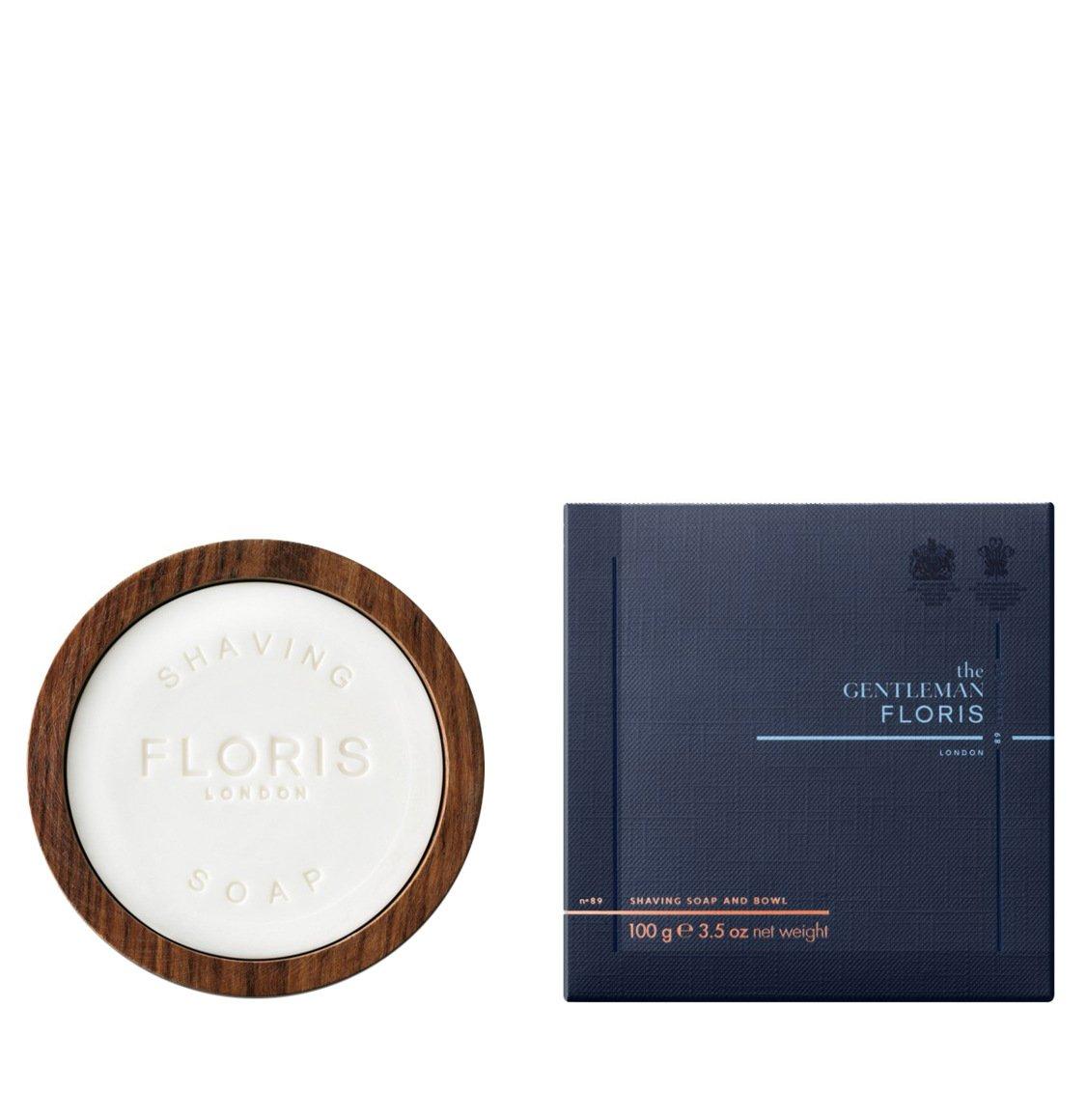 Floris London No. 89 Shaving Soap And Bowl 100g