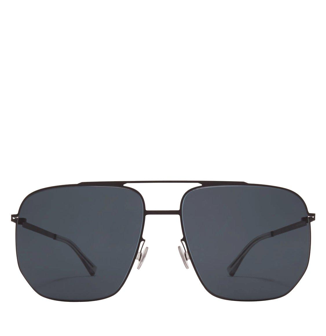 Mykita Aviator-Frame Black Sunglasses
