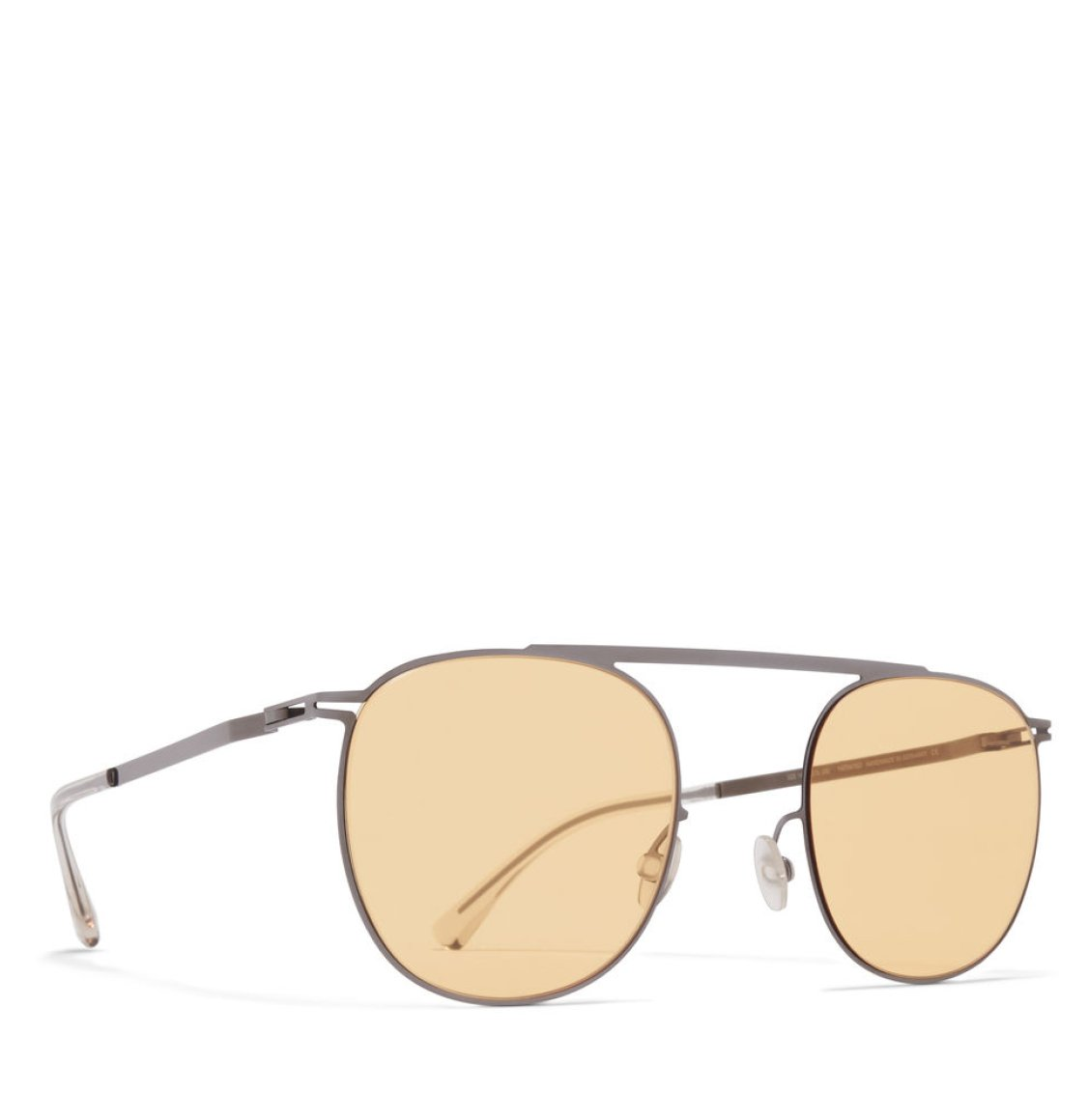 Mykita Aviator-Frame Graphite Sunglasses