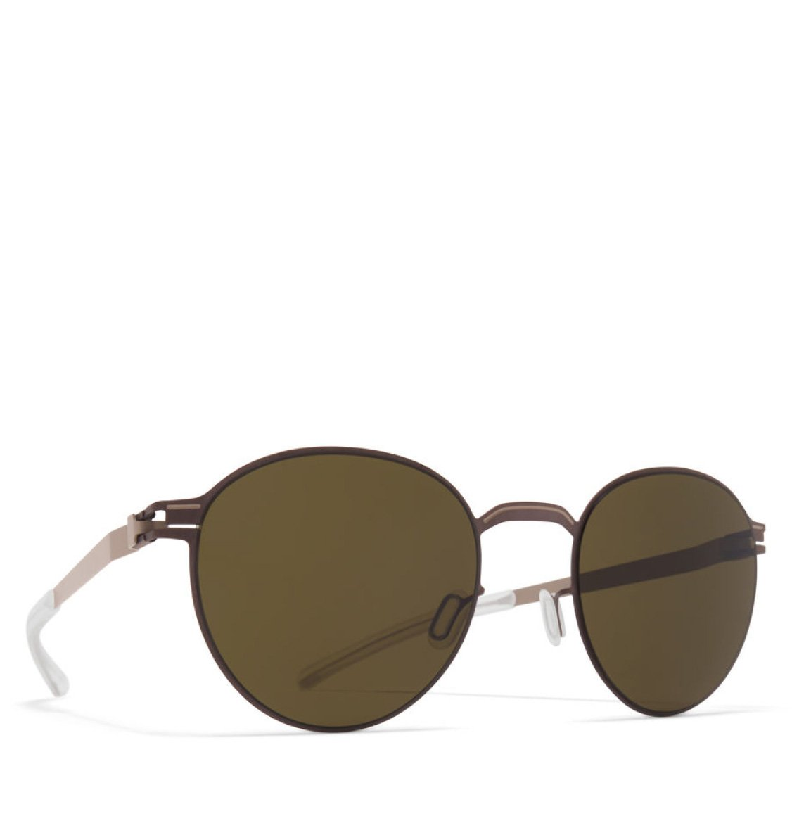 Mykita Panto Shaped Frame Mocca Sunglasses