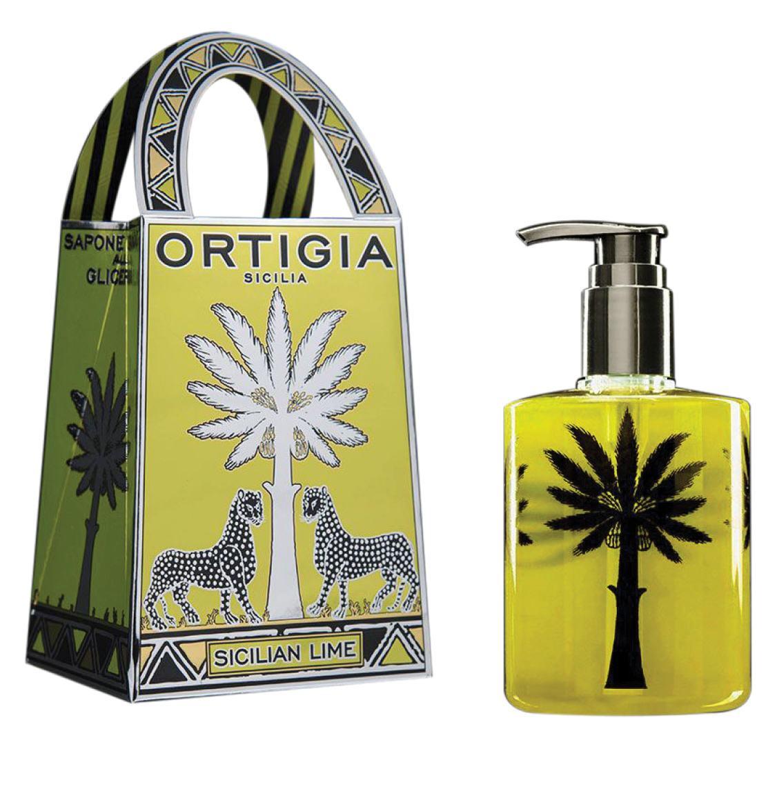 Ortigia Sicilia Lime Liquid Soap 300ml