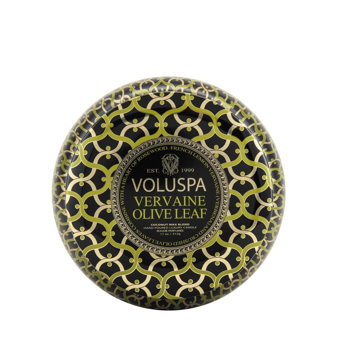 Voluspa Vervain Olive Leaf 2 Wick Candle 312g