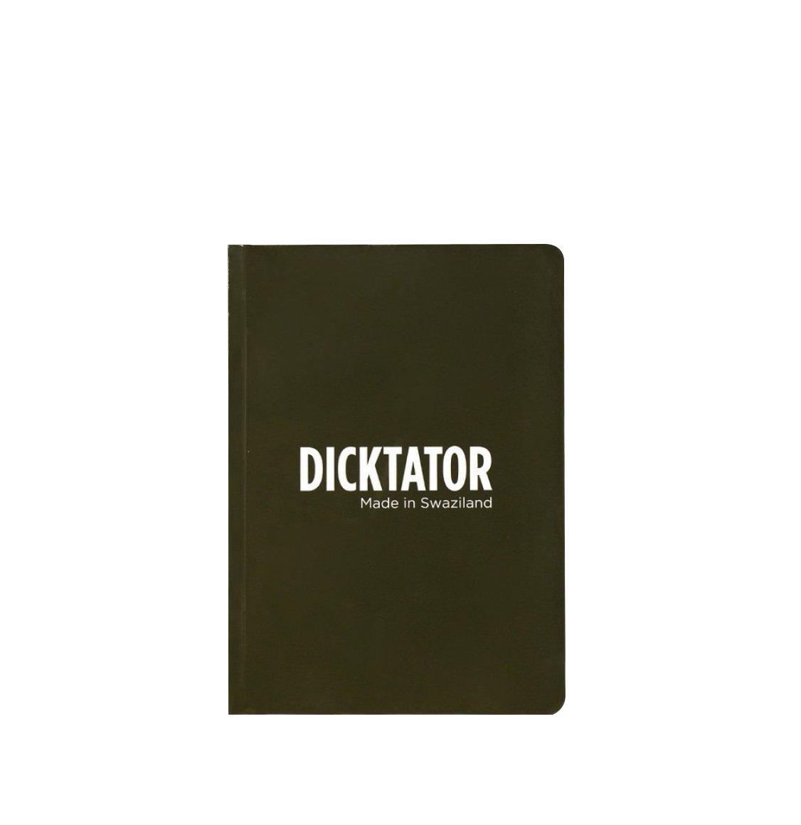 "Happily Ever Paper Repunation Stationery ""Dicktator"" Σημειωματάριο"