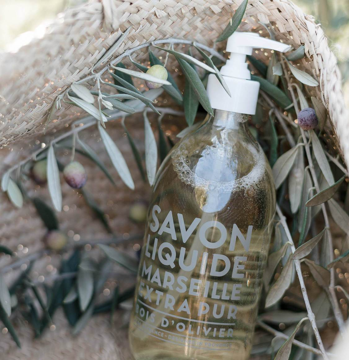 Compagnie De Provence Olive Wood Liquid Marseille Soap 500ml