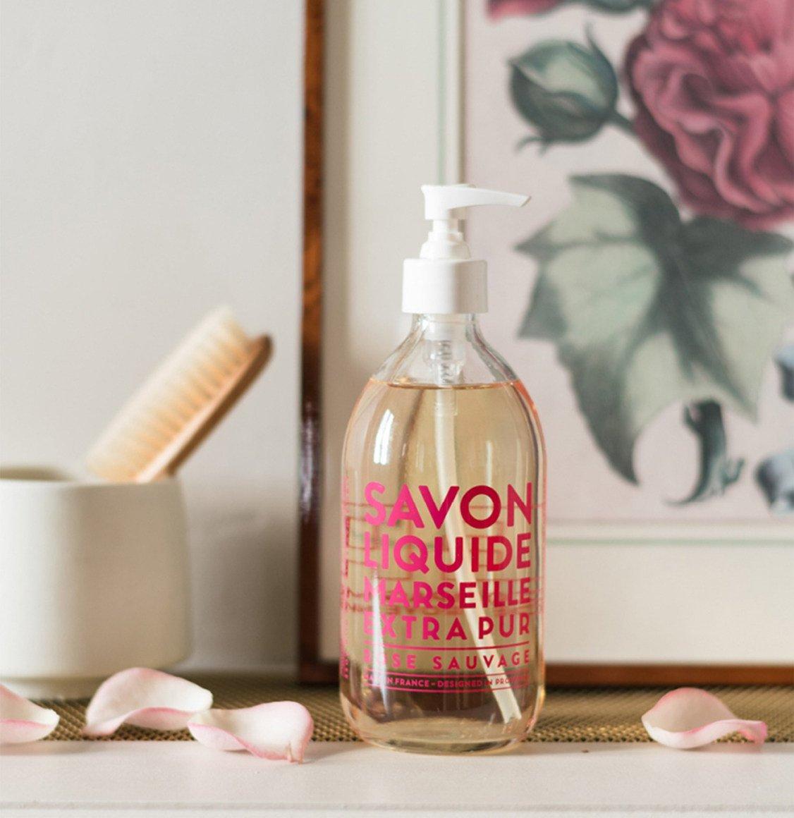 Compagnie De Provence Wild Rose Liquid Marseille Soap 500ml