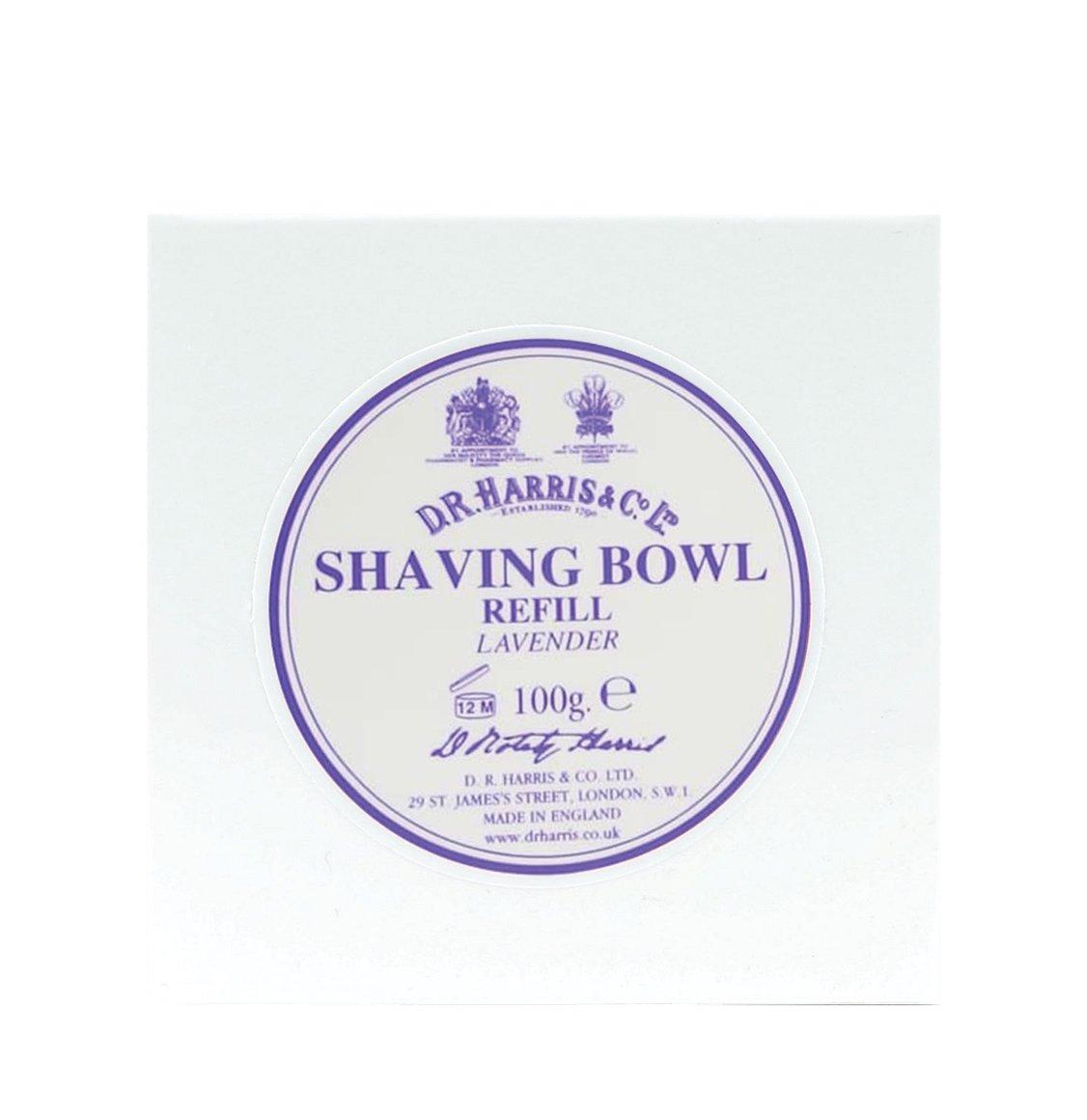 D R Harris Lavender Shaving Soap Refill 100g
