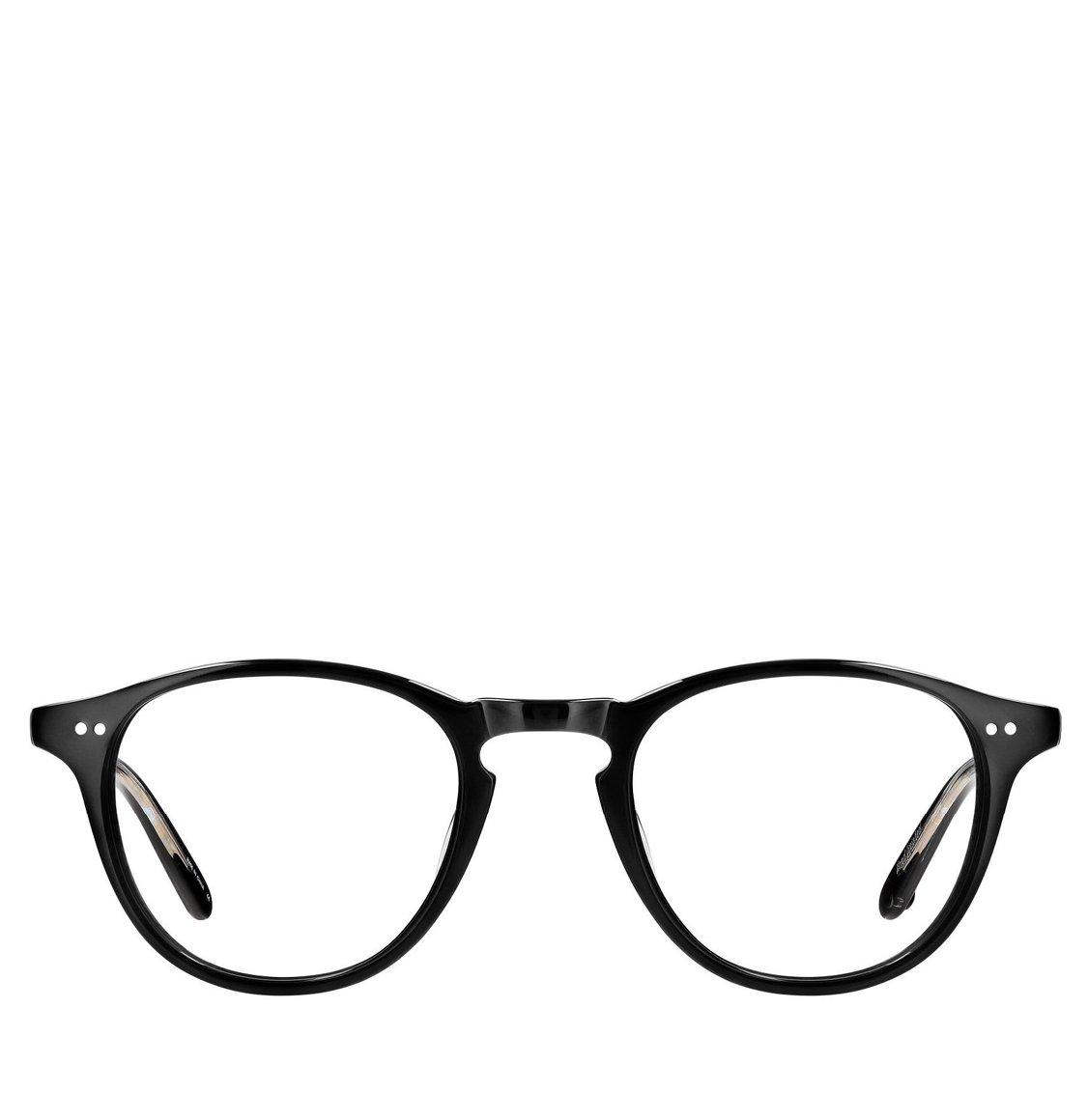 Garrett Leight Square Black Acetate Γυαλιά Οράσεως