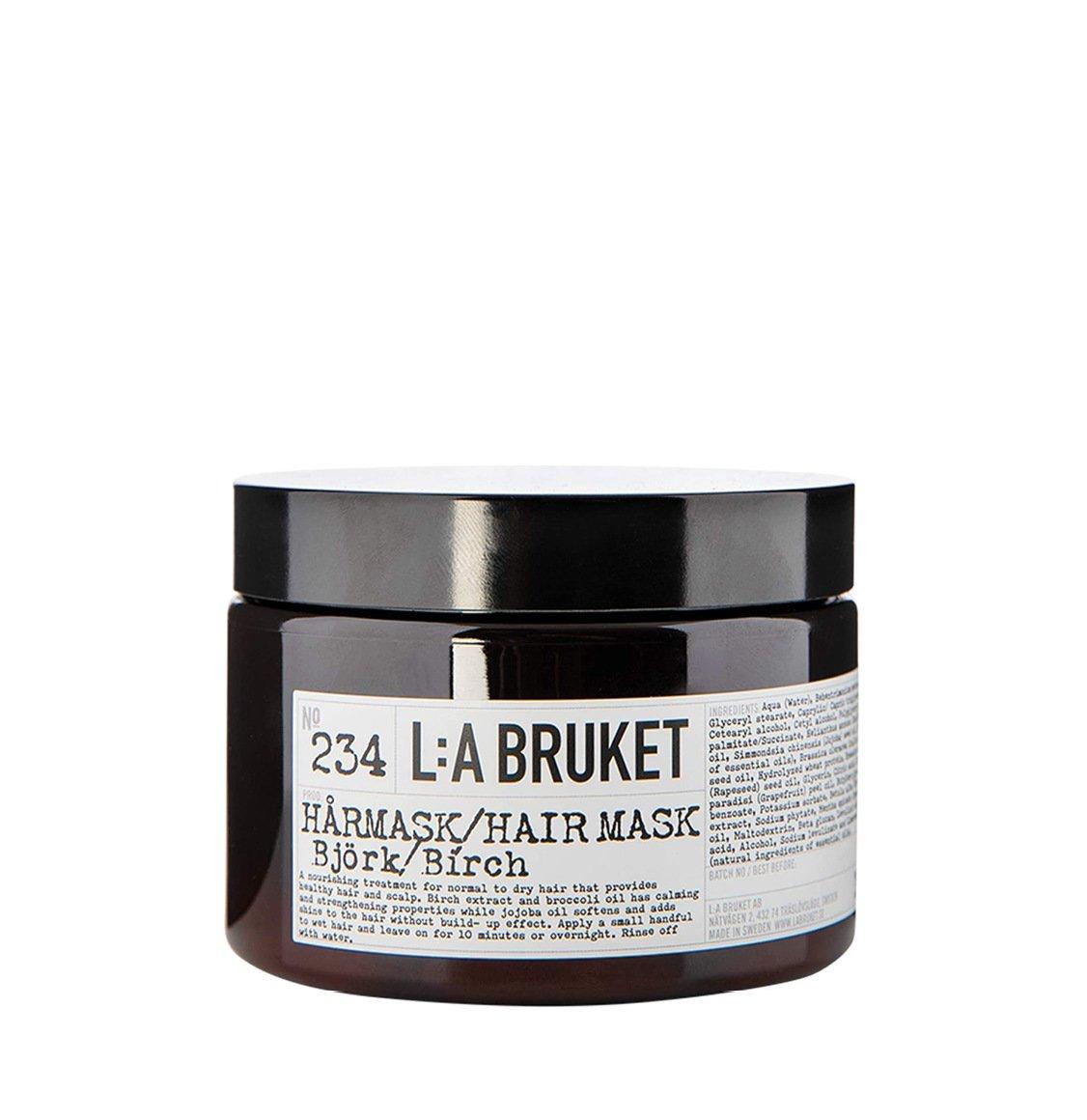 LA Bruket 234 Nourishing Μάσκα Μαλλιών Birch 350g