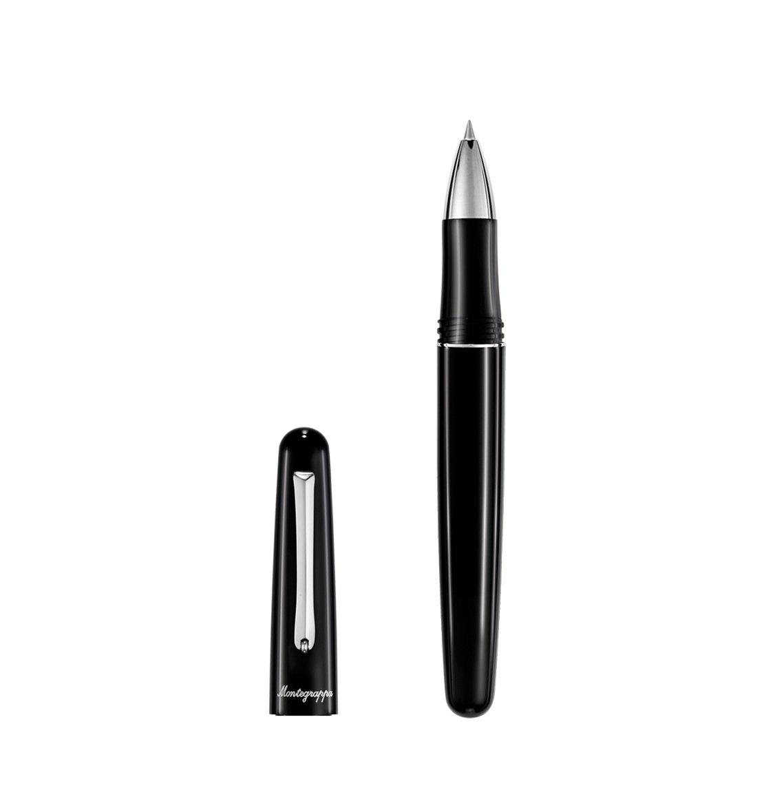 Montegrappa Στυλό Υγρής Μελάνης Elmo 01 Rollerball Pen Black