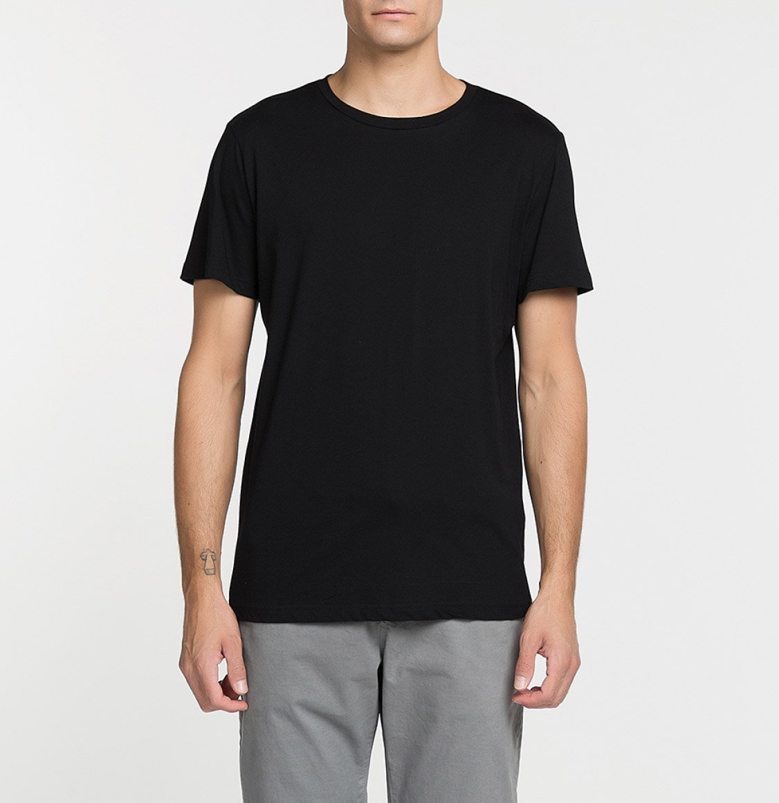 The Project Garments Band V2 Crew Neck T-Shirt Black