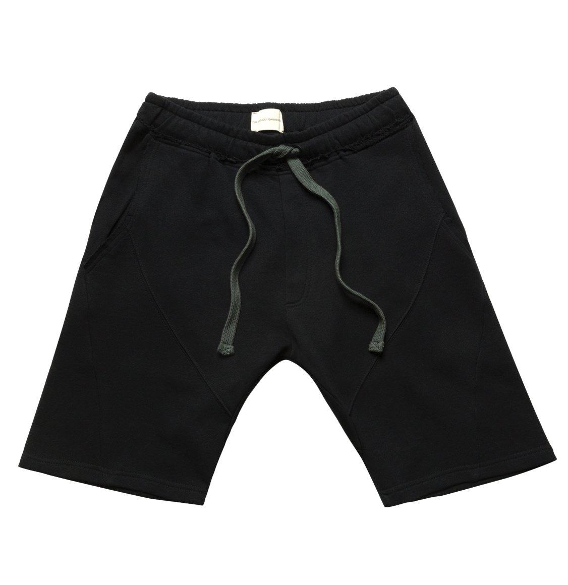 The Project Garments Organic Cotton Jersey Sweatshorts Black
