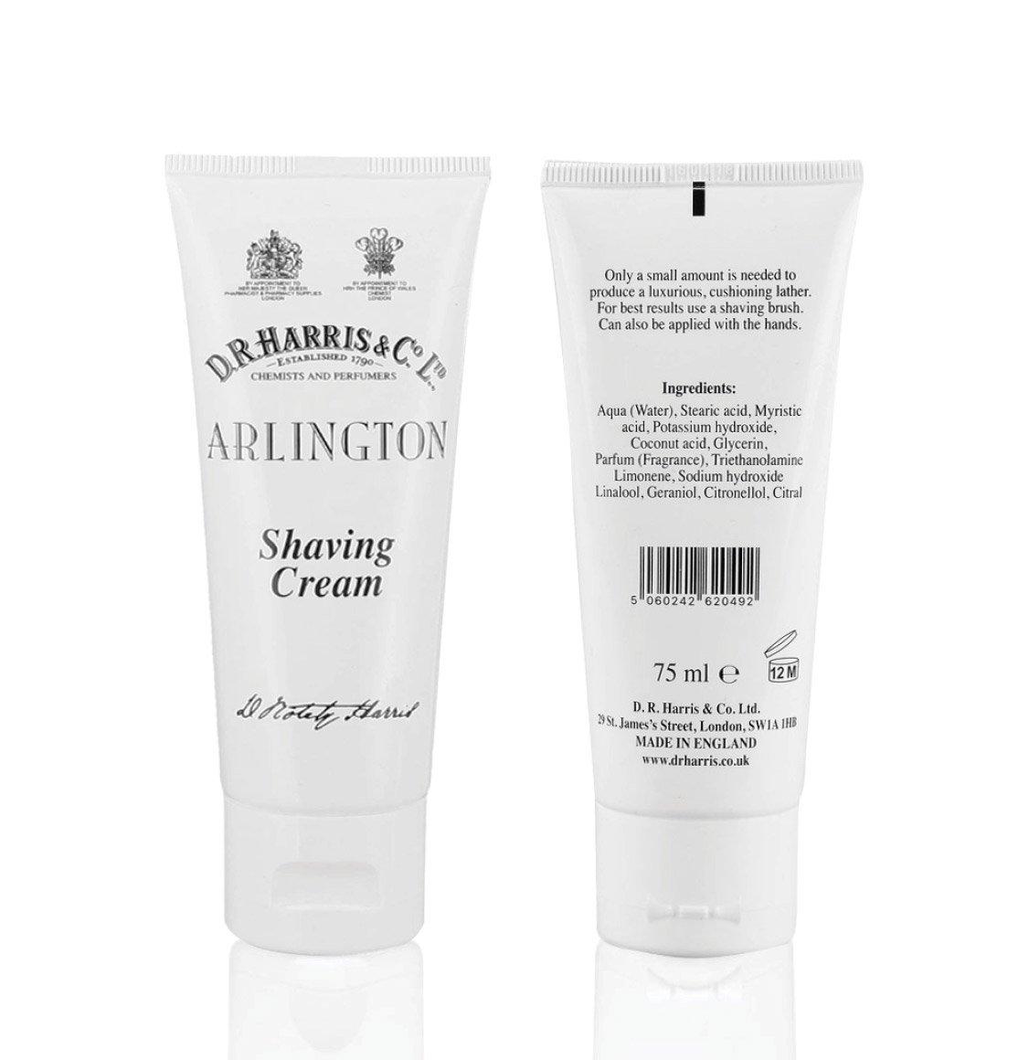 D R Harris Arlington Shaving Cream 75ml