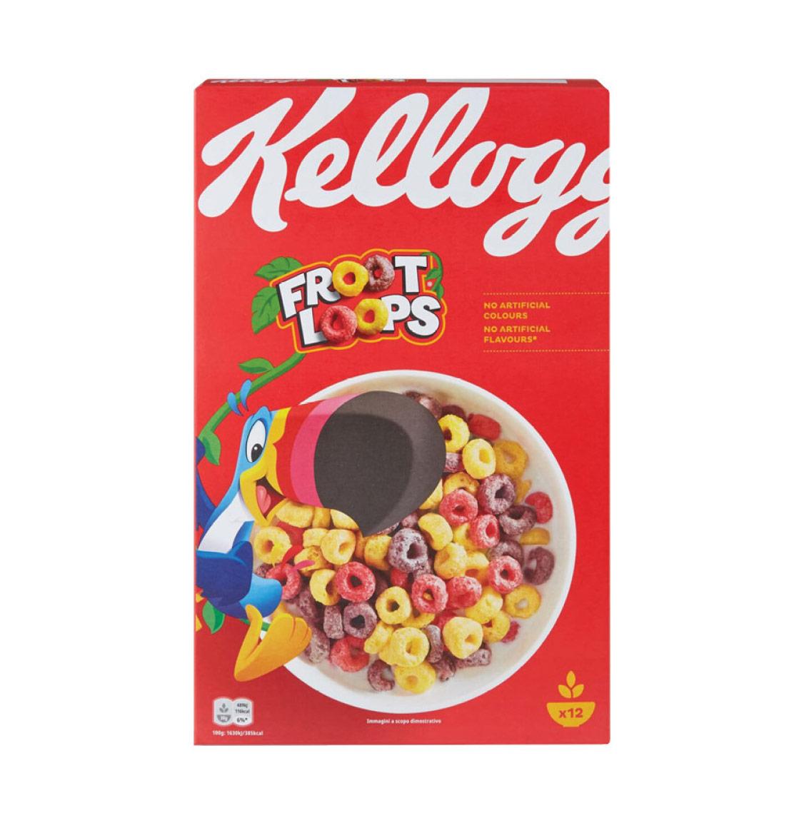 Kellogg's Froot Loops Δημητριακά 375g