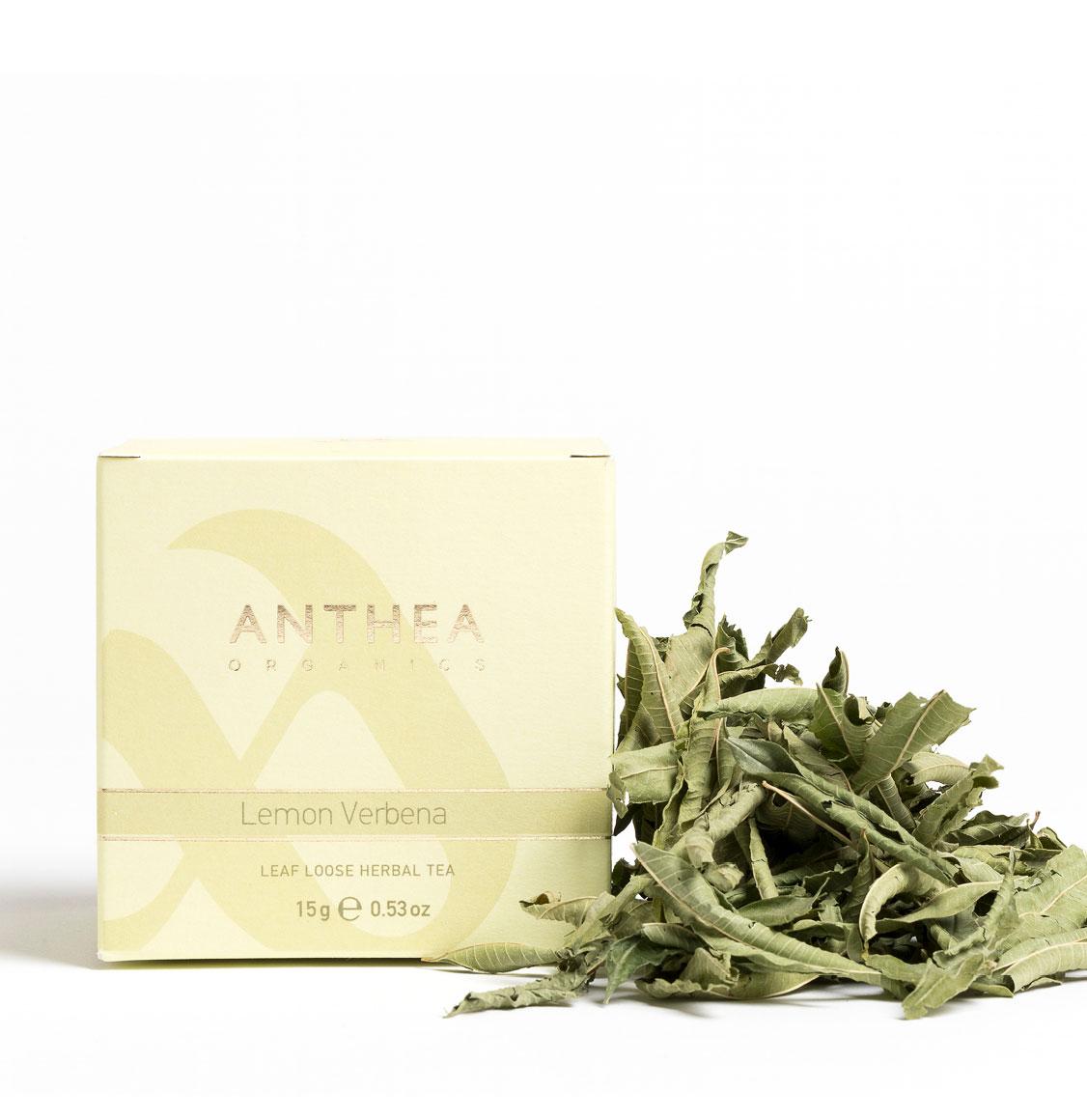 Anthea Organics Βιολογική Λουίζα Leaf Loose Lemon Verbena 15g