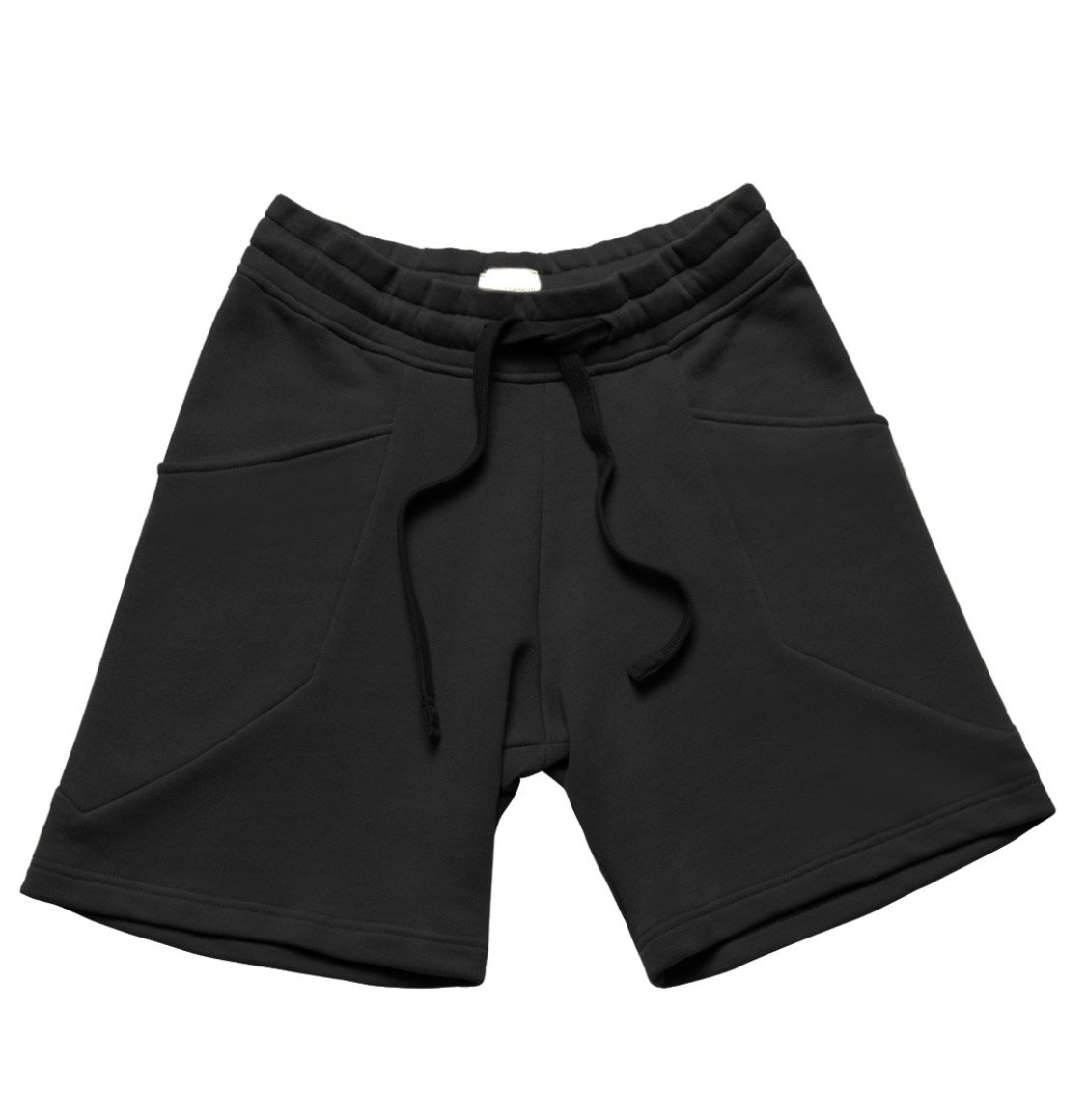 The Project Garments Loopback Organic Cotton Jersey Shorts Black