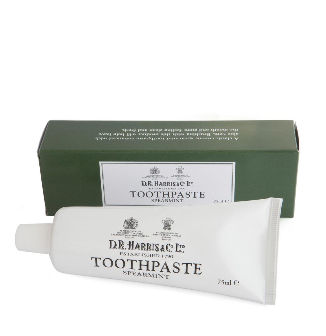 D R Harris Spearmint Toothpaste 75ml