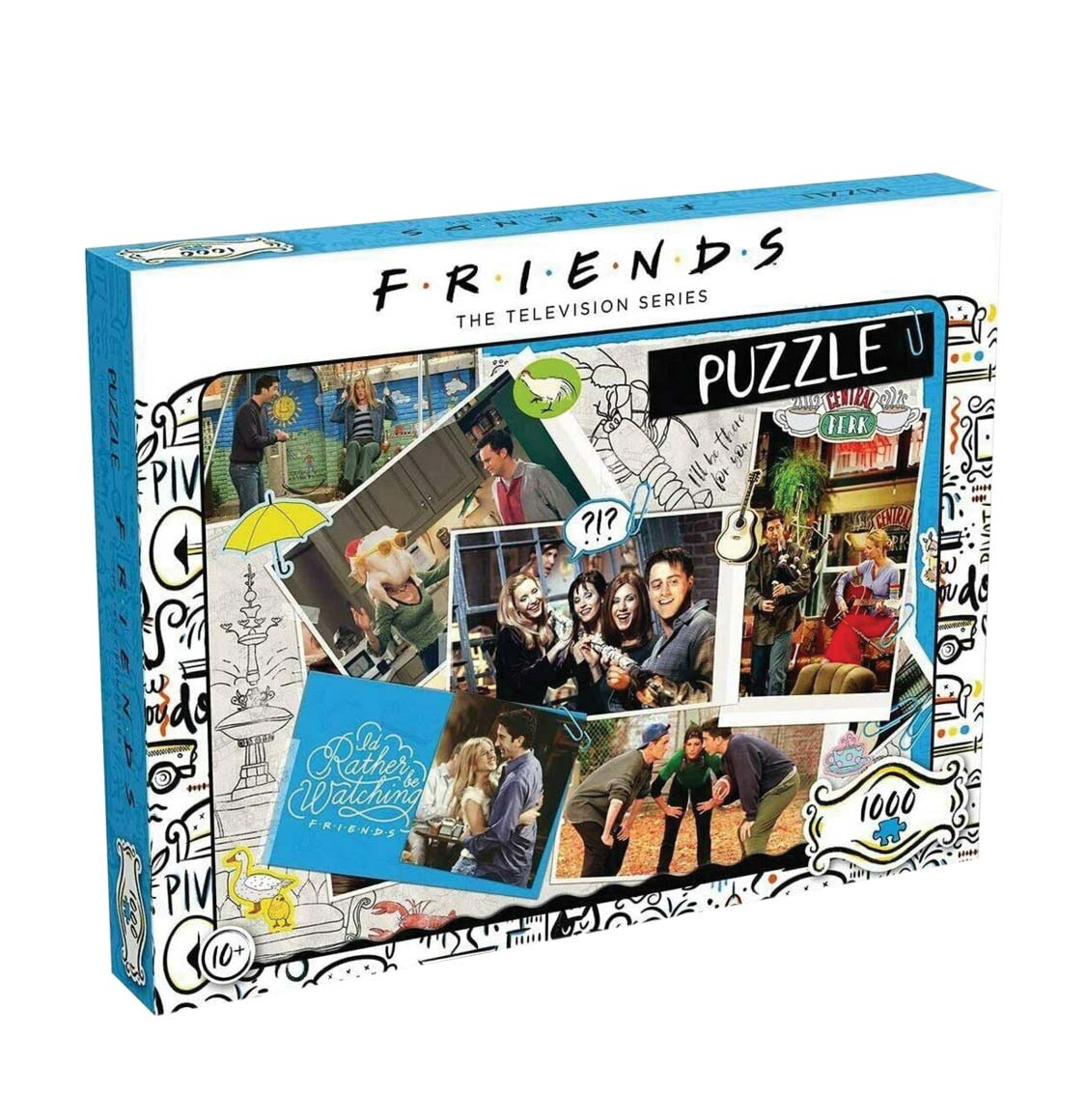 Winning Moves Puzzle Friends The TV Series Scrapbook 1000 Pieces