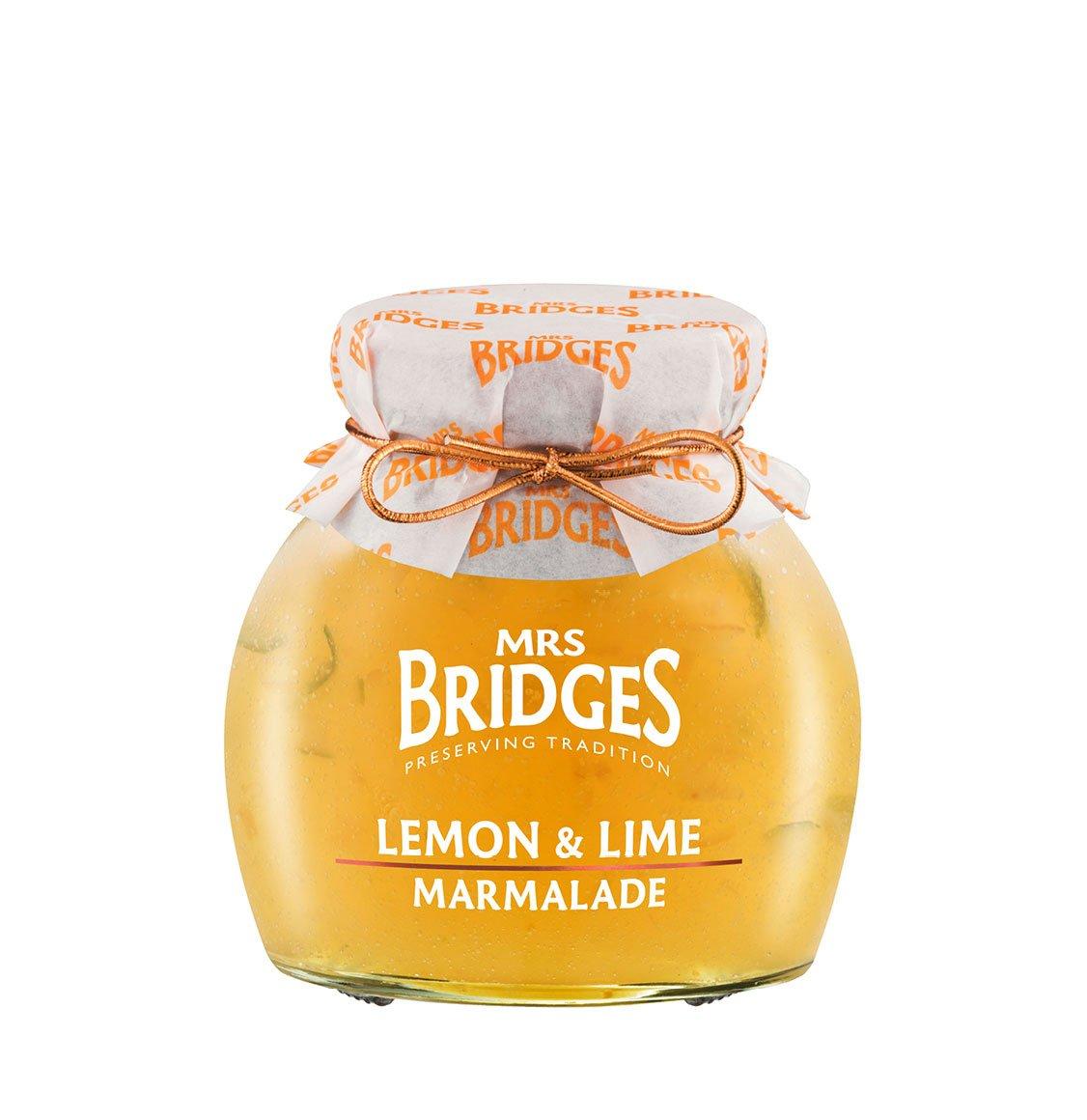 Mrs Bridges Μαρμελάδα Λεμόνι Και Lime 340g