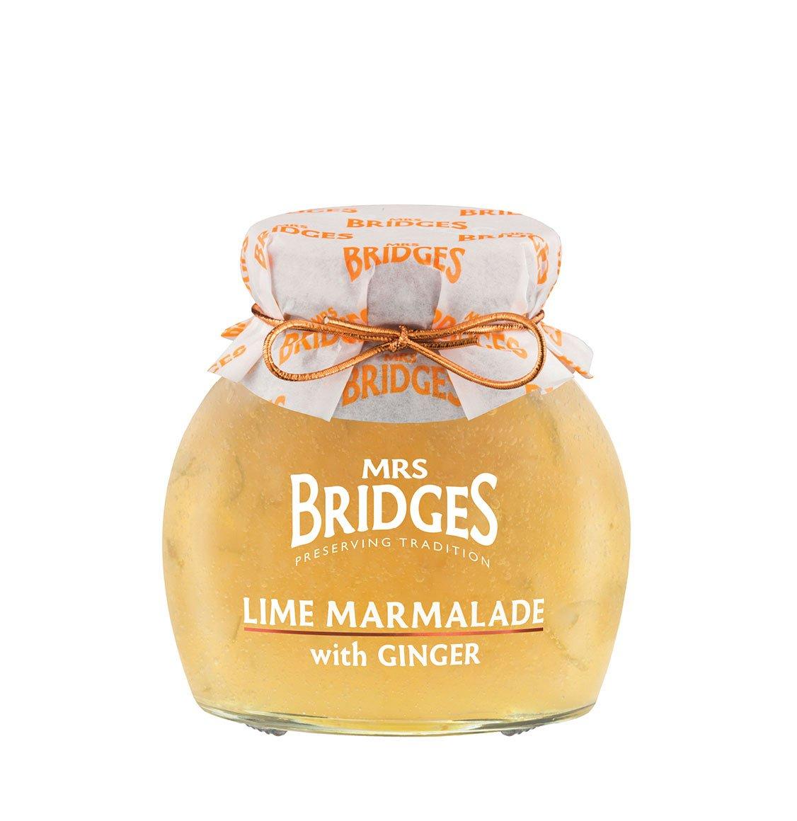 Mrs Bridges Μαρμελάδα Lime Με Ginger 340g