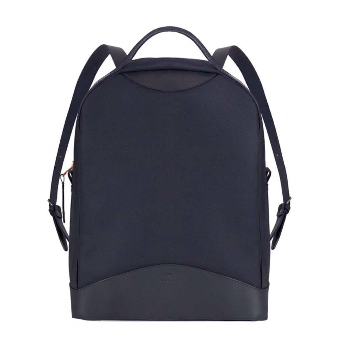 Atelier De L' Armee Navy Canvas Luxury Backpack