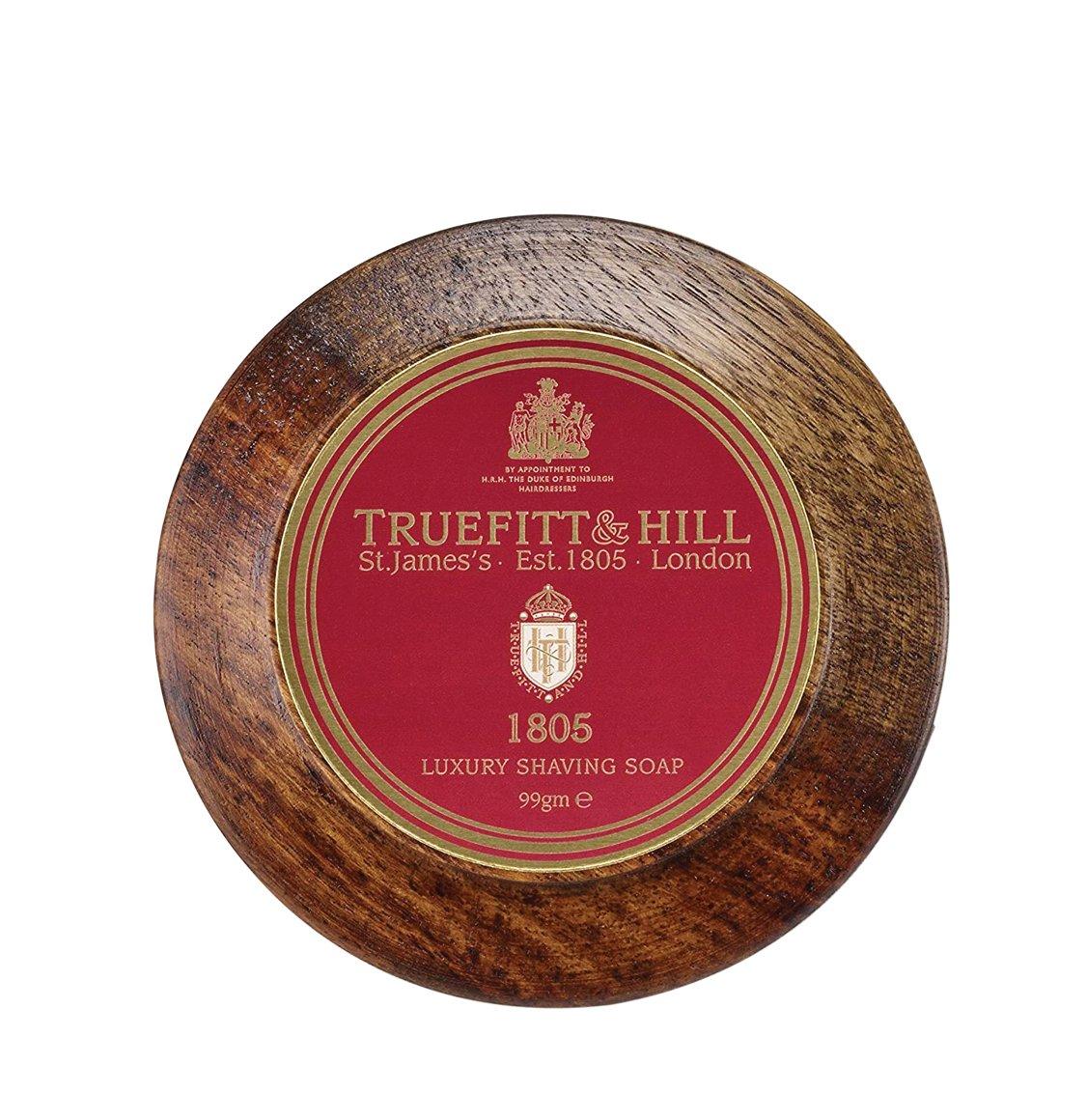 Truefitt And Hill 1805 Shaving Soap In Wooden Bowl 99g