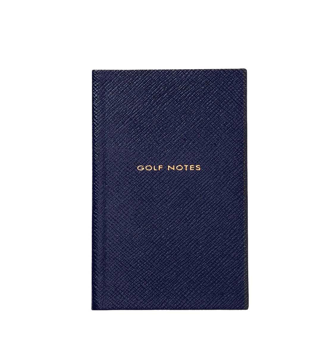 Smythson Golf Notes Notebook