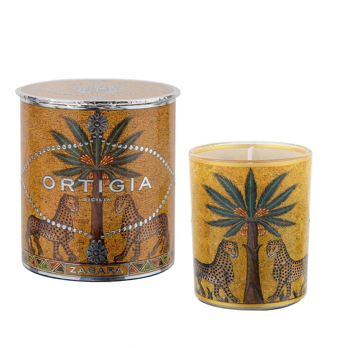 Ortigia Sicilia Orange Blossom Decorated Candle 150g