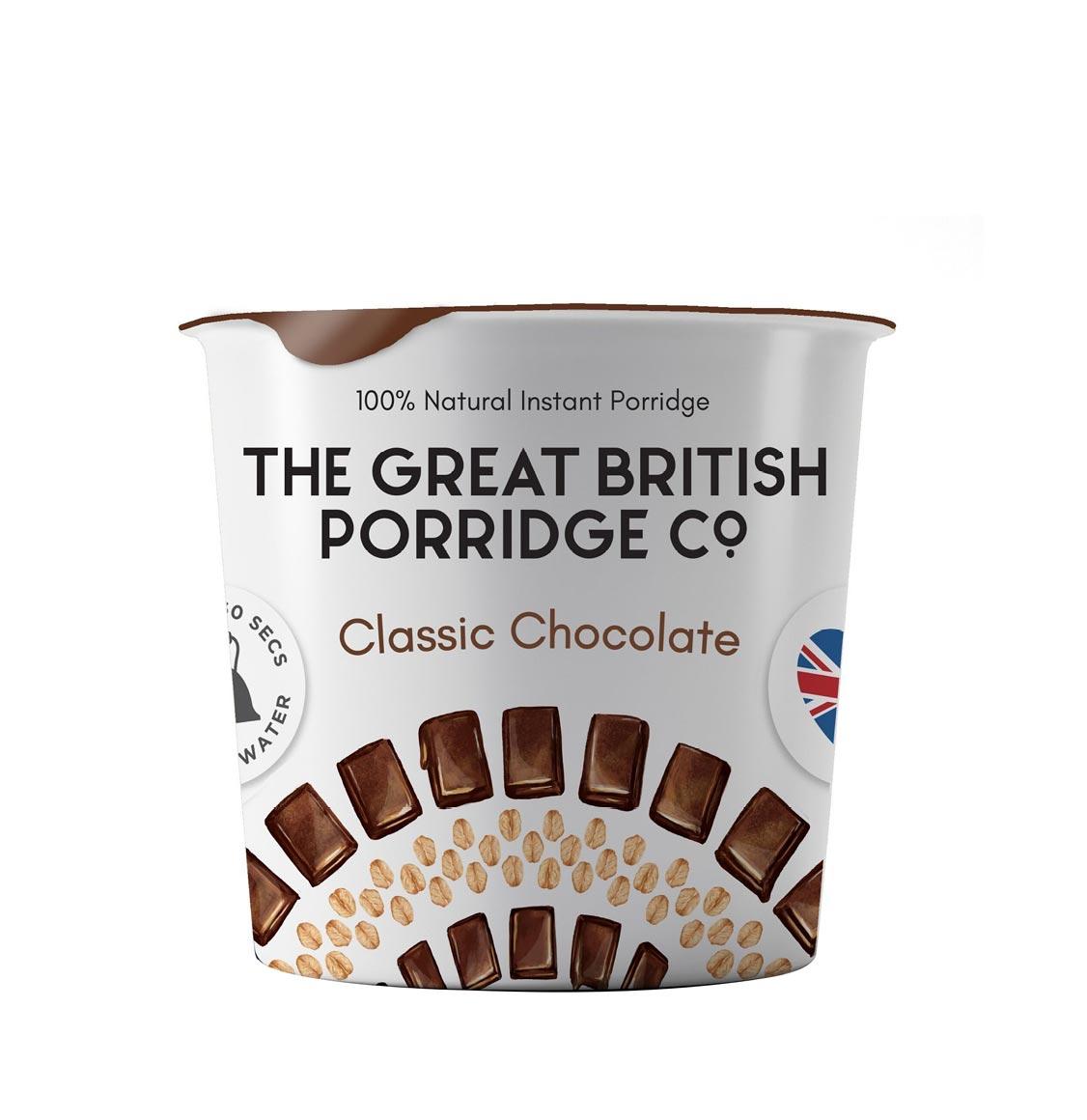 The Great British Porridge Classic Chocolate Pot 60g
