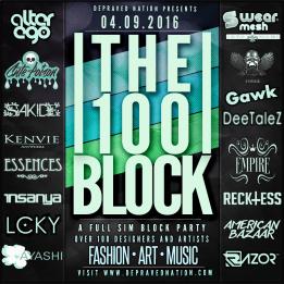 The 100 Block 2016