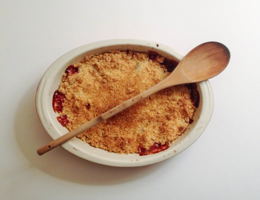 Crumble Recipe - The Project Lifestyle