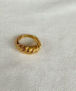 Χρυσό δαχτυλίδι βέρα