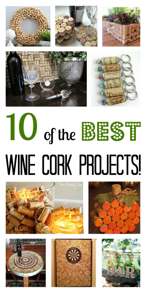 10 of the Best Wine Cork Projects!