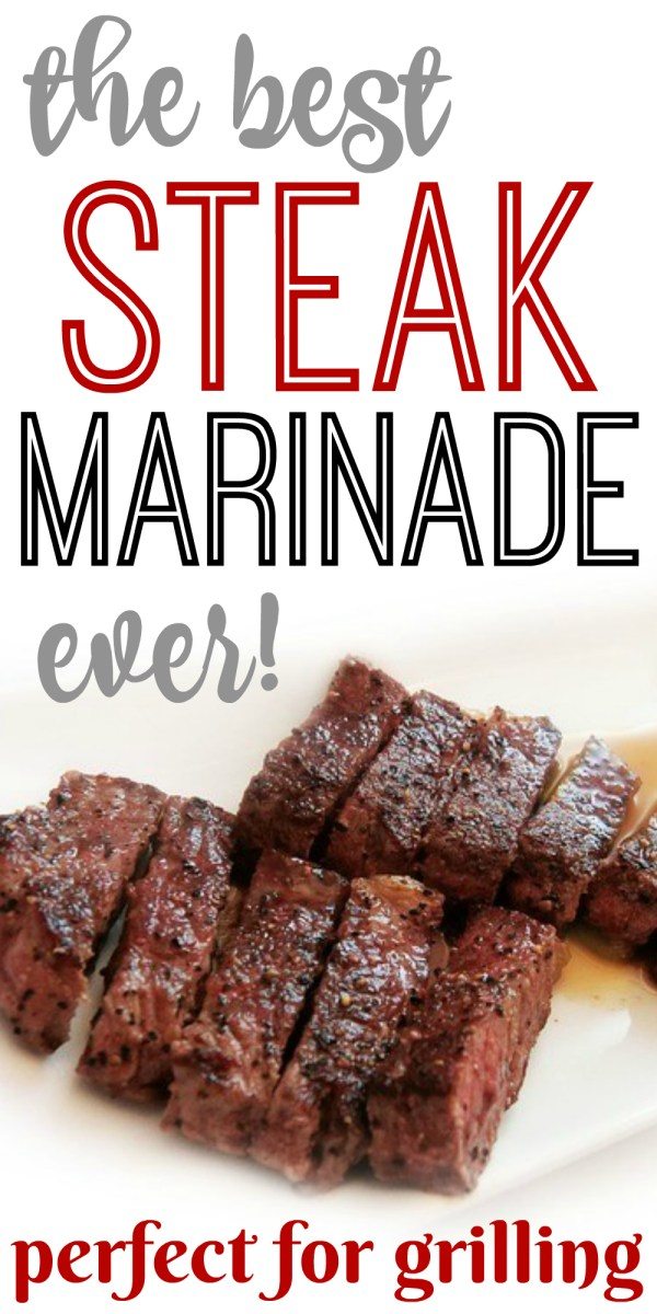 Steak Marinade! Perfect for Grilling!
