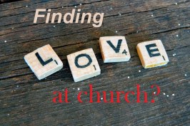 Should You Move Churches If There Isn't Enough Eye Candy At Your Church?
