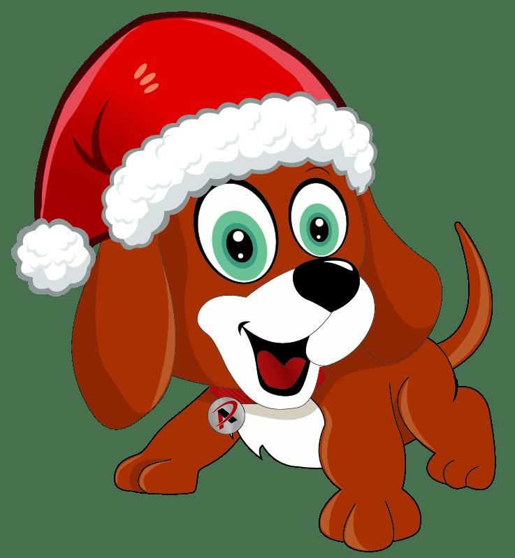 Christmas Swag the dog