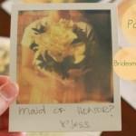 Tut Tuesday: Polaroid Bridesmaid Request