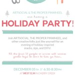 Party With Me At The Holiday Eat Drink Create
