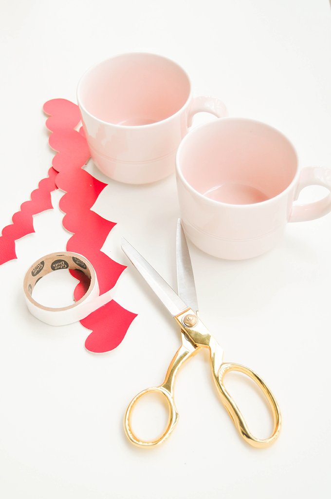 DIY HEART MUG WRAPS