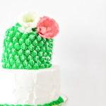 #SaguaroSweets \\ Colorful Cactus Cake