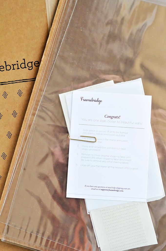 Holiday Gifts with Framebridge & @theproperblog