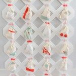 DIY Lattice Advent Calendar