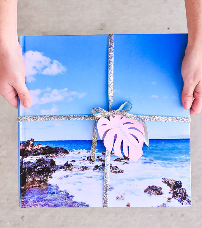 easy holiday gift idea - vacation recap with Blurb