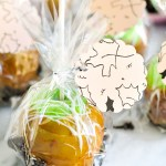 #ProperPrintables \\ Harvest Printable (+ An Easy Caramel Apple Recipe!)