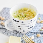Taste It \\ White Chocolate & Pistachio Mug Cake