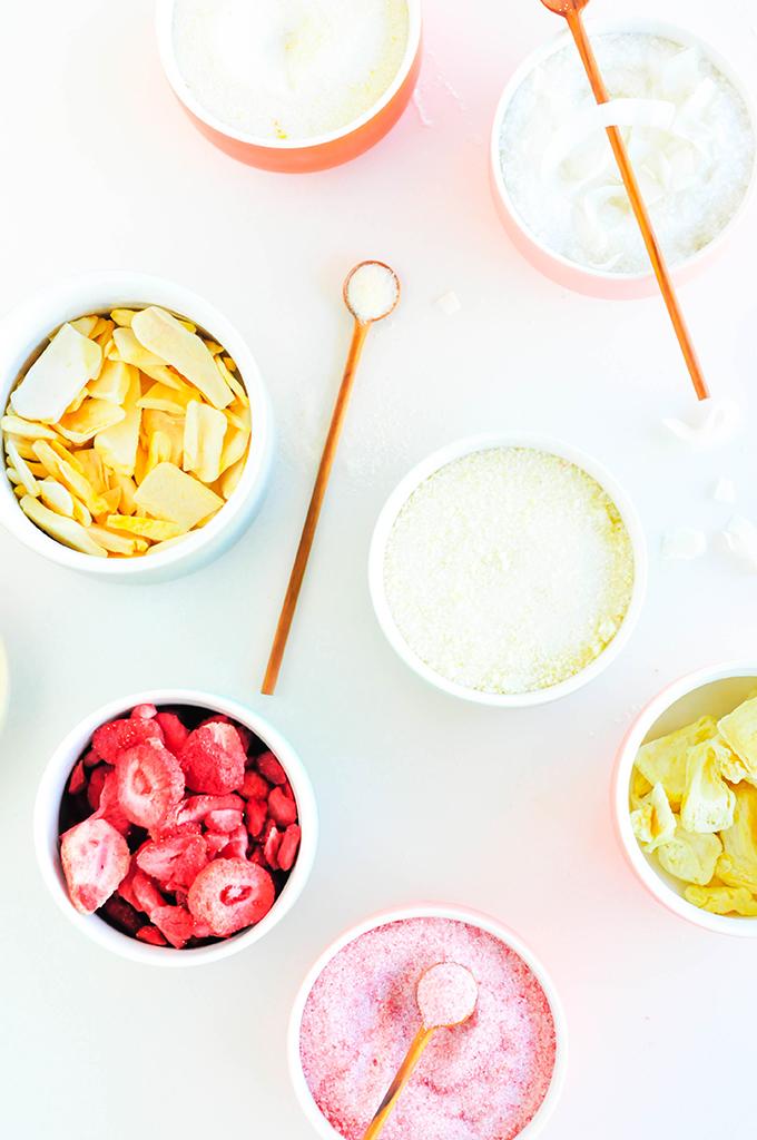 DIY Fruit-Infused Sugars