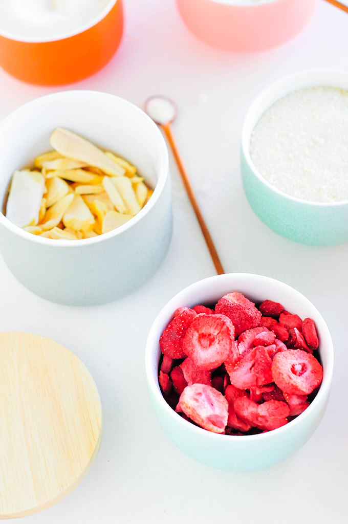 DIY Fruit-Infused Sugars