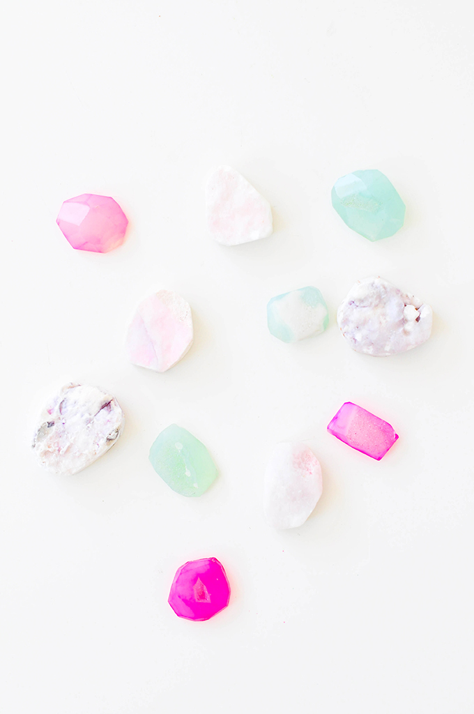 DIY Gem Magnets