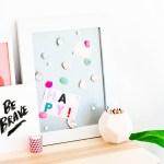 DIY \\ Easy DIY Gem Magnets To Dress Up Your Workspace
